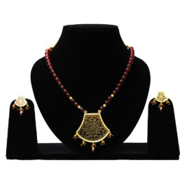 Gold Plated Thewa Set TR-103-70 Red