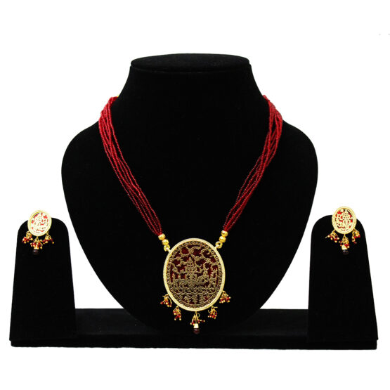 Gold Plated Thewa Set TR-165-70 Red