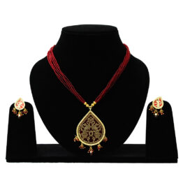 Gold Plated Thewa Set TR-175-70 Ruby
