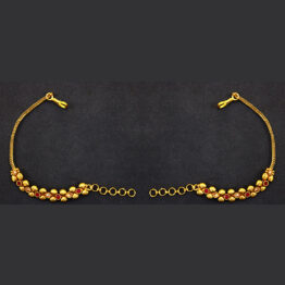Gold Plated Ear Chain ER-5977-41