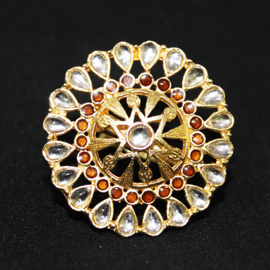 Star Gold Plated Ring 100199