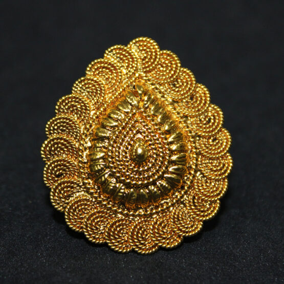 Ethnic Gold Plated Ring 201036