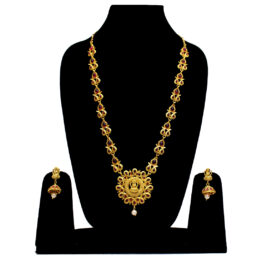 Laxmi Design Gold Plated Necklace NS-4458-69
