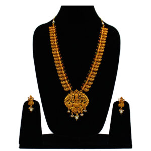 Long Peacock Temple Necklace NS-4852-95