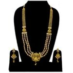 White Temple Long Necklace NS-1268-229